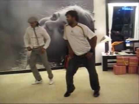 Allu Arjun Dance Practice For Arya2
