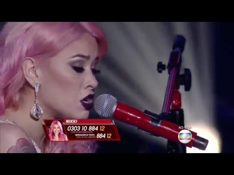 Nikki - Hello (Adele)  SemiFinal The Voice Brasil 2015