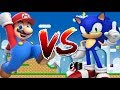 Sonic vs Mario   Super Mario World Multiplayer