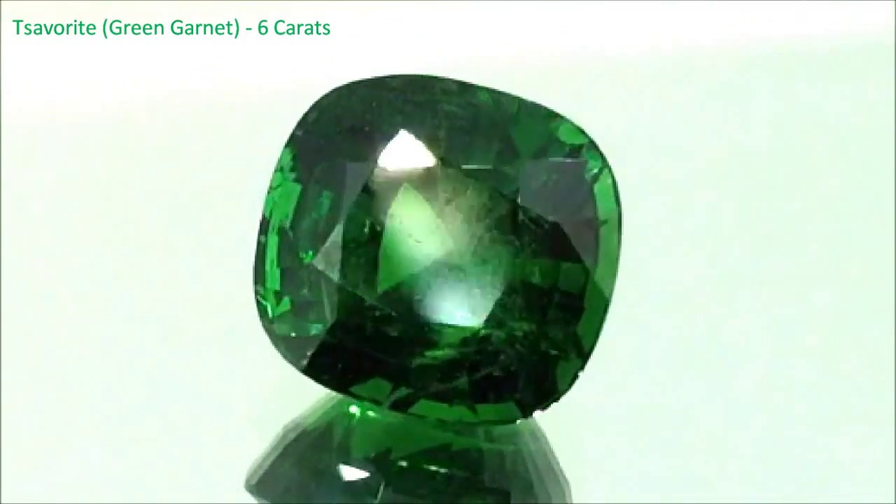 garnet cut tsavorite gem kenya rare tsavo green pin emerald bright gemstone