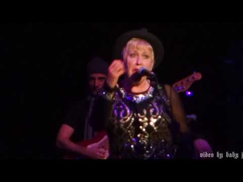 Hazel O'Connor-HANGING AROUND (The Stranglers)-Live-The Corby Cube-UK-Nov 29, 2017-Breaking Glass