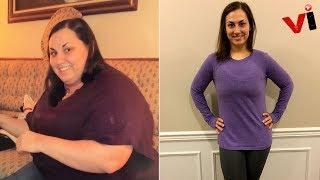 One Woman Went From Drinking 5 Cans of Soda A Day To Losing 170Lbs And Transforming Her Life