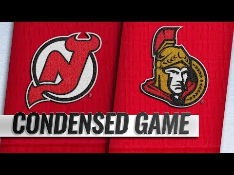 New Jersey Devils vs Ottawa Senators  Nov.06, 2018  Game Highlights  NHL 201819  Обзор матча