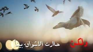 أنشودة - رحلت الى بحار العشق حلمي ( سراب ) للمنشد : ناصر السعيد