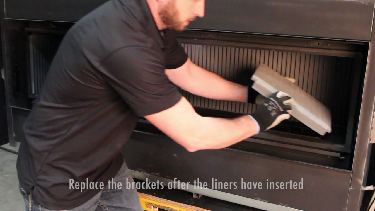 enviro c60 gas fireplace liner installations youtube