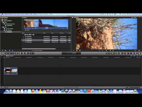 Final Cut Pro X Quick Start Tutorial