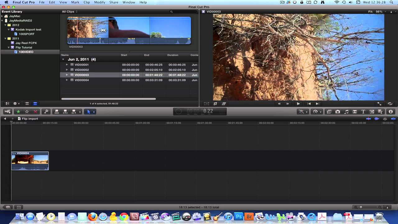 Final Cut Pro X Quick Start Tutorial