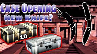 "I HAVE NEW KARAMBIT KNIFE?!!?  Critical Ops - Update 1.0 Case Opening + ""Gameplay"