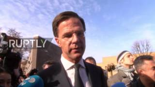 Netherlands  Don't choose the 'wrong populism' urges Rutte at polling station