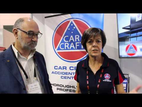 Car Craft at 2015 National Collision Repair Expo