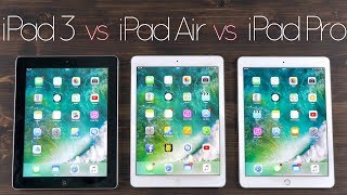 iPad Pro vs iPad Air vs iPad 3 | Display, Performance, Kamera