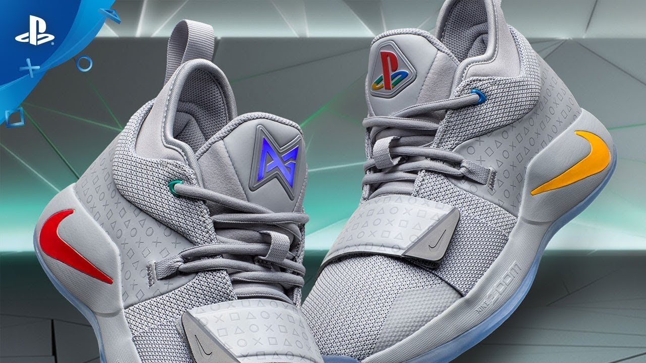 brand new f2cfc e9a86 Nike PG 2.5 x PlayStation Colorway   Announce Video