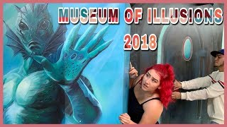 MUSEUM OF ILLUSIONS 2018 VLOG