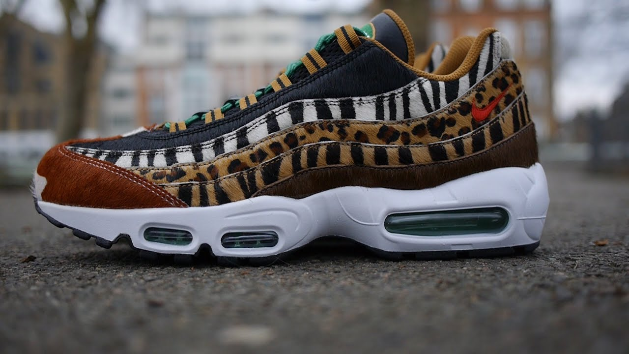 Nike x Atmos Air Max 95 Animal Pack 2.0 Review & On Feet (2018)