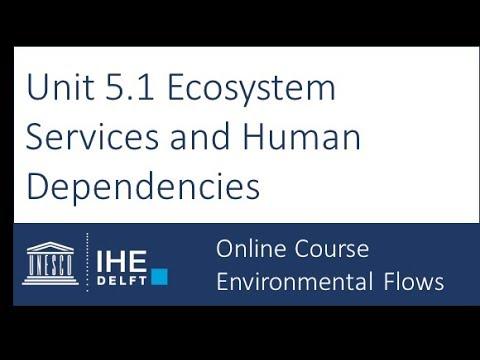 Unit 5.1 Ecosystem Services and Human Dependencies