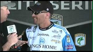 BASS Elite Series Angler Randy Howell, Day 4 Weigh in