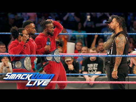 The Usos read The New Day their rights: SmackDown LIVE, Oct. 3, 2017