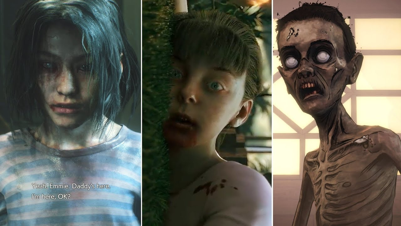 Download 5  Most Heartbreaking Scenes of Kids Turning Into Zombies in Video Games