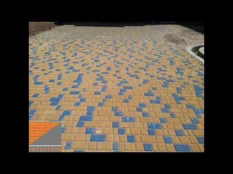 Тротуарная плитка купить от производителя БалансБуд