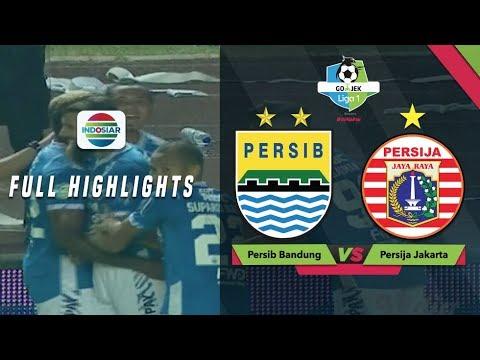 Image of Persib Bandung (3) vs (2) Persija Jakarta- Full Highlights | Go-Jek Liga 1 Bersama Bukalapak