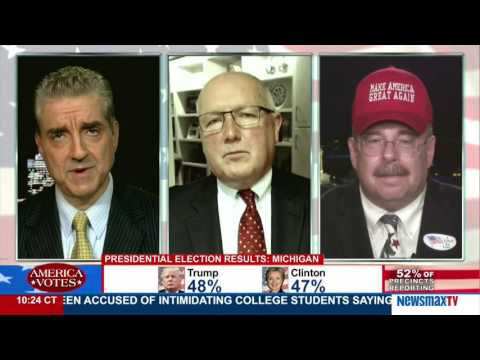 America Votes | Steve Malzberg, Michael P. Flanagan, and Pete Hoekstra - Tight races in WI and MI
