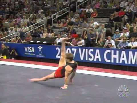 Paul Hamm - Floor Exercise - 2007 Visa Championships - Men