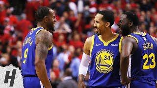 Andre Iguodala DAGGER - Game 2 | Warriors vs Raptors | 2019 NBA Finals