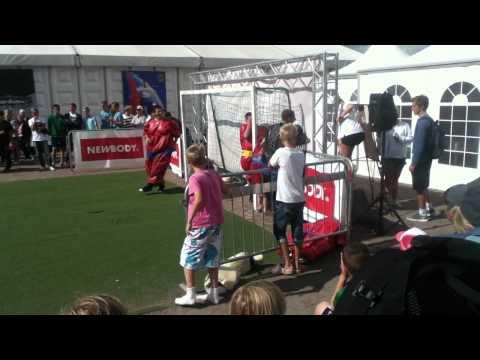 Sumo Soccer in Gothia Heden Center