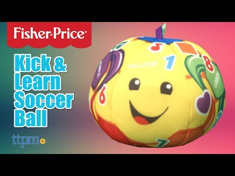 Laugh & Learn Kick & Learn Soccer Ball From Fisher-Price