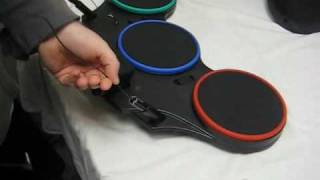 How to open & fix your Guitar Hero World Tour XBox 360 or PS3 Drums Drum Set