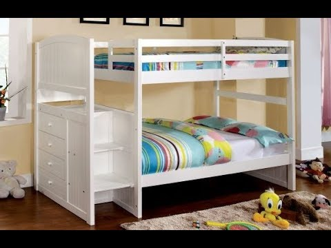 Low Height Bunk Beds As The Best Choice For Children Bedroom Youtube