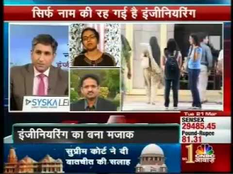 Job Crisis for Engineers in India | TeamLease | CNBC Awaaz