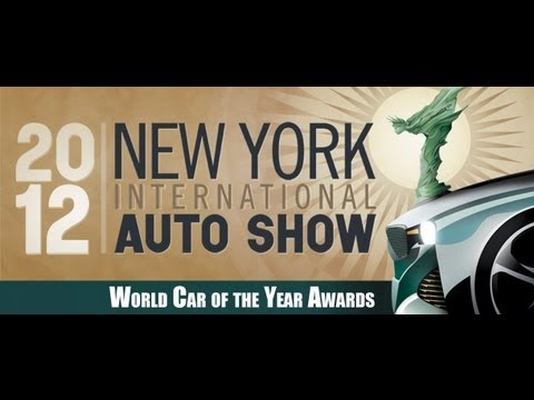 New York Auto Show 2012 - World Car of the Year Awards - HD - Deutsch