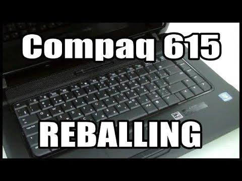 reballing hp compaq 615 graphics card repair youtube rh youtube com compaq 615 service manual compaq 615 service manual