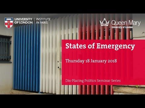 States of Emergency