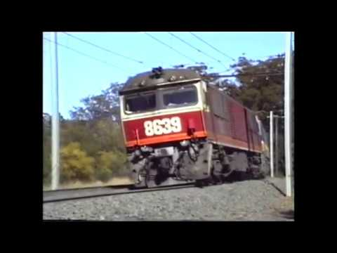Under the Wires - 86 and 46 Class Electrics in New South Wales