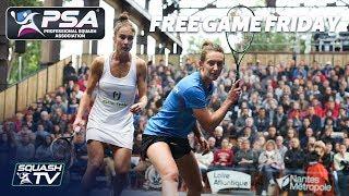Squash: Tomlinson v Gilis - Free Game Friday - Squash De Nantes 2017