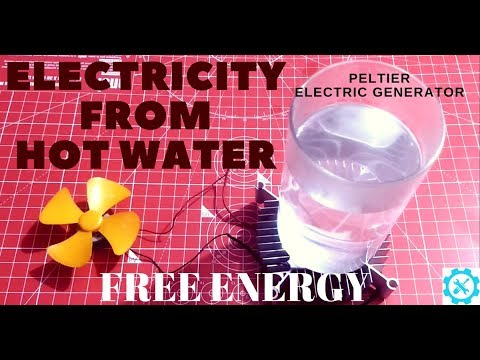 Free Energy - Electricity from Hot water