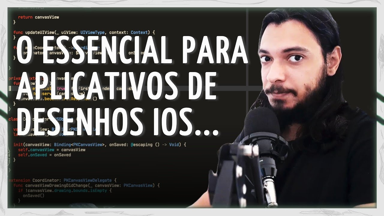 PENCILKIT E SWIFTUI - DESENHOS EM APLICATIVOS iOS