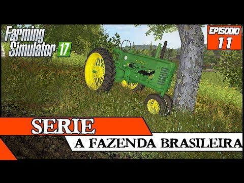 ENCONTREI UM TRATOR MUITO ANTIGO ABANDONADO! | FARMING SIMULATOR 17 #11 | PT-BR |