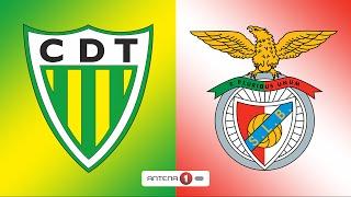 Tondela vs Benfica   0-2   Primeira Liga   Relato Antena 1