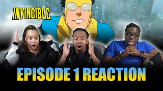 WHAT IS GOING ON!?? | Invincible Ep 1 Reaction