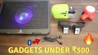 Unique Gadgets Under Rs500 | Part 14 | Tech Unboxing 🔥