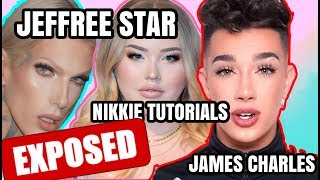 JEFFREE STAR & NIKKIE TUTORIALS DISS JAMES CHARLES MAKEUP PALETTE