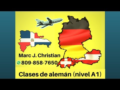 Clases de alemán A1 en Santiago, República Dominicana
