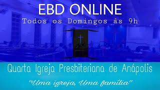 EBD IV IPA | PRESBITERIANISMO | 15/08/2021