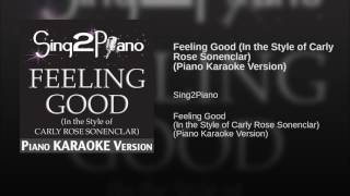 Feeling Good In the Style of Carly Rose Sonenclar