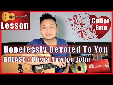 Hopelessly Devoted To You - Olivia Newton John Guitar Tutorial