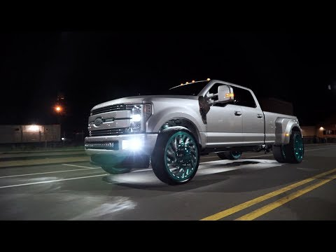 Specialty Forged Wheels | Cody Hill's F350 Dually on D022 28s