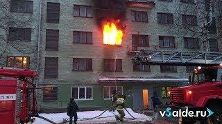 В Верхней Салде загорелось общежитие № 3, 13.12.2018